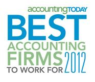 Best Accounting Firm to work for 2012 Mann Weitz & Associates